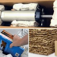 Toepassingen papier opvulsysteem