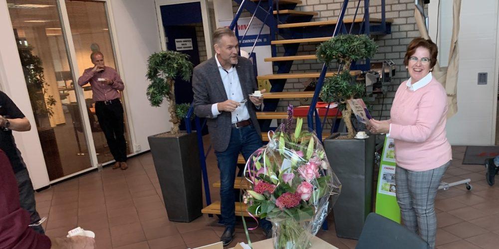 Anita 40 jaar bij FROMM Nederland B.V.